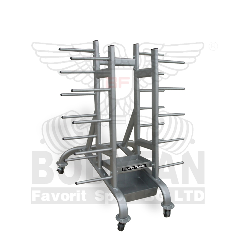 Fitness pump rack